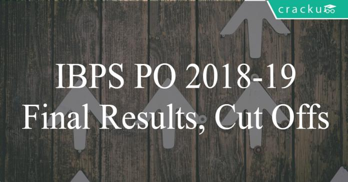 IBPS PO 2019 final results