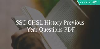 ssc cgl history previous year questions pdf