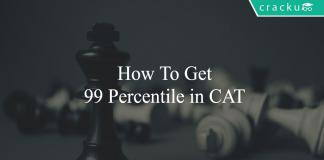 How to get 99 percentile in CAT