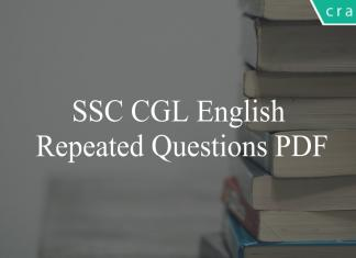 ssc cgl english repeated questions pdf