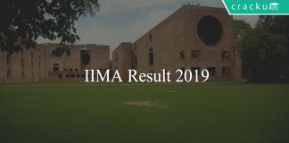 IIMA Result 2019