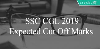 SSC CGL 2019 expected cut offs