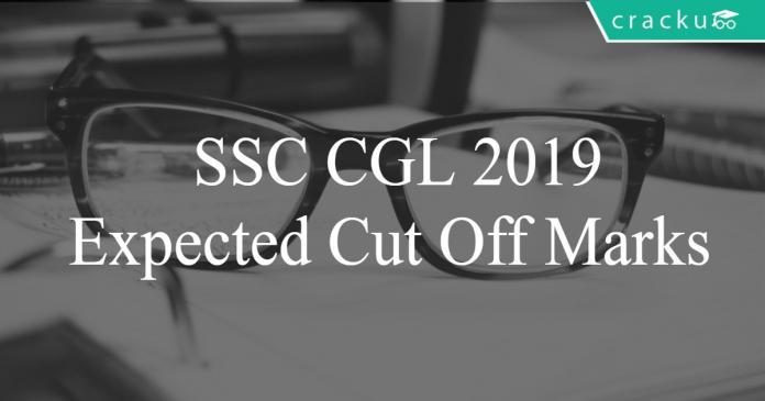 SSC CGL 2019 expected cut offs