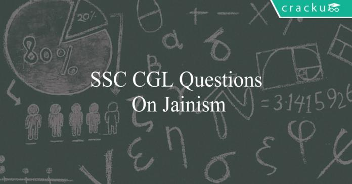 ssc cgl questions on jainism
