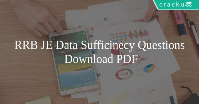 RRB JE Data Sufficiency Questions PDF