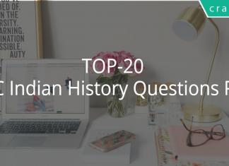 TOP-20 SSC Indian History Questions PDF