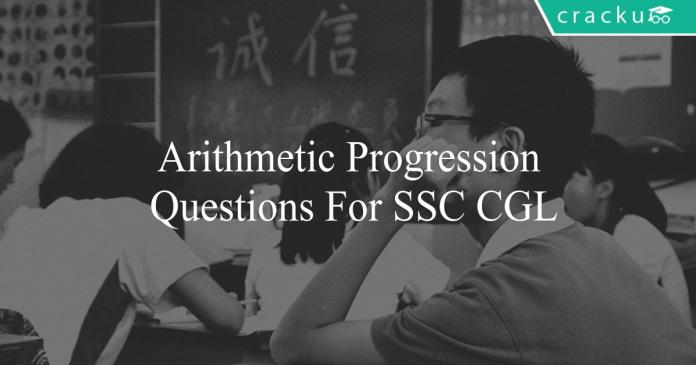 arithmetic progression questions for ssc cgl