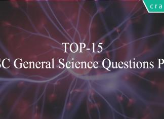 TOP-15 SSC General Science Questions PDF