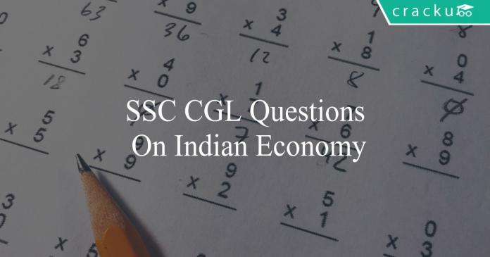 ssc cgl questions on indian economy