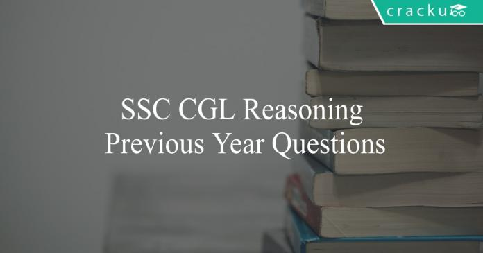 ssc cgl reasoning previous year questions pdf