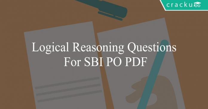 logical reasoning questions for sbi po pdf