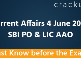 4th June Current Affairs