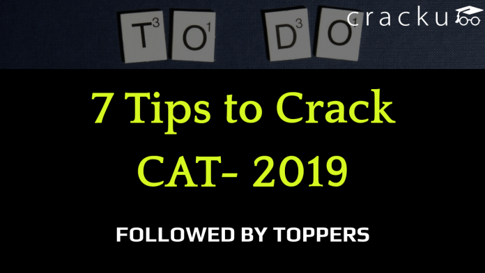 How to prepare for CAT 2019