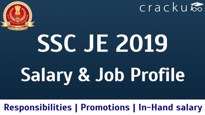 SSC JE Salary 2019