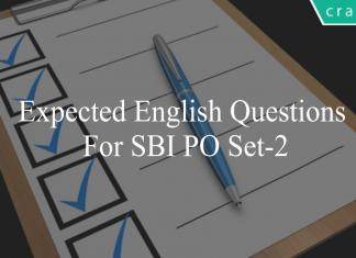 expected english questions for sbi po set-2