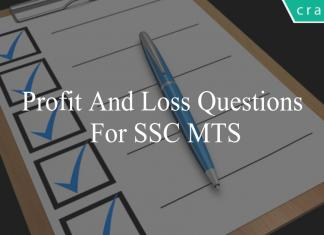 profit and loss questions for ssc mts
