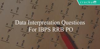 data interpretation questions for ibps rrb po