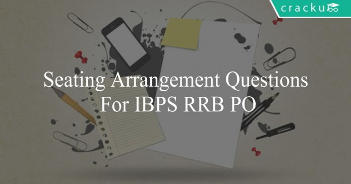 seating arrangement questions for ibps rrb po