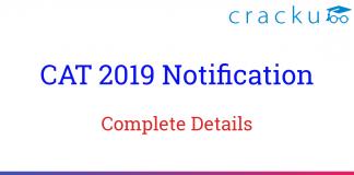 CAT 2019 Notification PDF