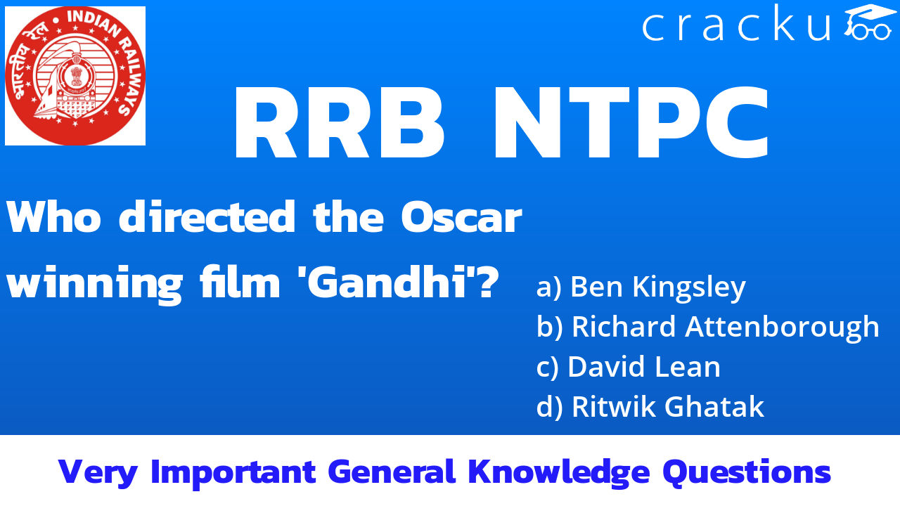 RRB NTPC General Awareness Quiz In English - Cracku