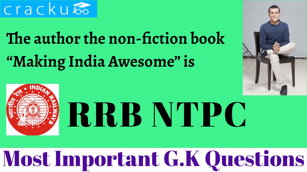 RRB NTPC General Awareness Quiz - Cracku