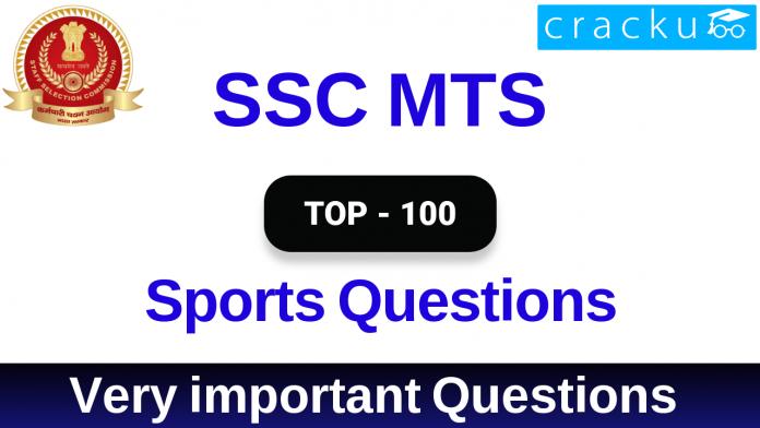 SSC MTS SPORTS Questions