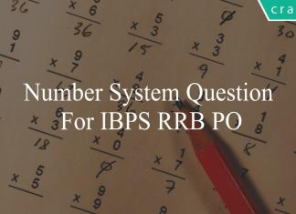number system question for ibps rrb po
