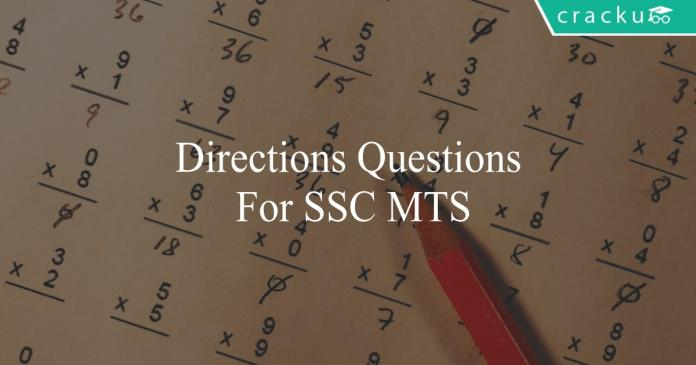 directions questions for ssc mt