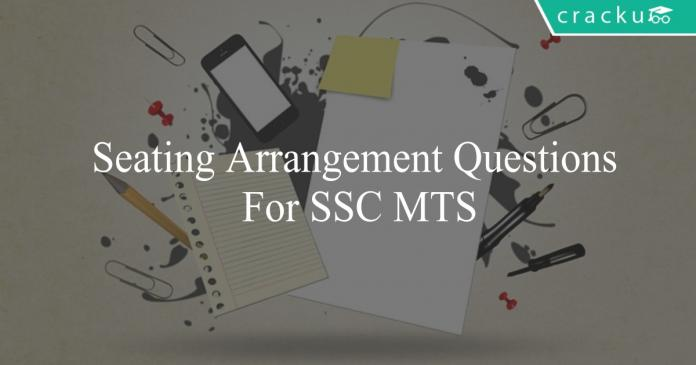seating arrangement questions for ssc mts