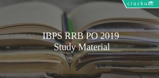 IBPS RRB PO study material
