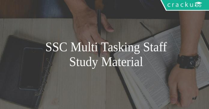 ssc mts study material
