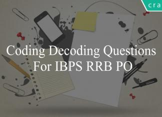coding decoding questions for ibps rrb po