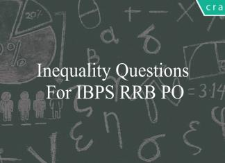 inequality questions for ibps rrb po