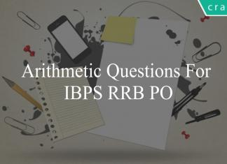 arithmetic questions for ibps rrb po