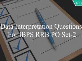 data interpretation questions for ibps rrb po set-2