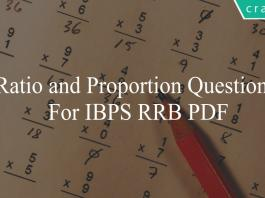 ratio and proportion questions for ibps rrb po
