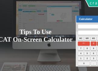 CAT 2019 Exam Calculator - How to use