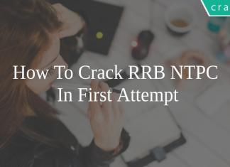 how to crack the RRB NTPC in first attempt