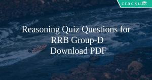 Railway Important Questions and Answers PDF - RRB JE, ALP