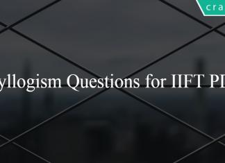 Syllogism Questions for IIFT PDF