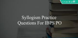 syllogism practice questions for ibps po