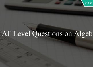 CAT Level Questions on Algebra