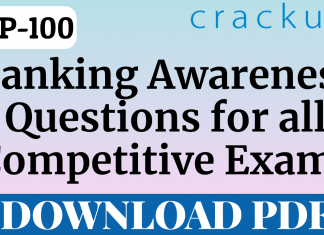 TOP-100 Banking Awareness Questions for all Competitive exams