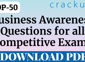 TOP-50 Business Awareness Questions