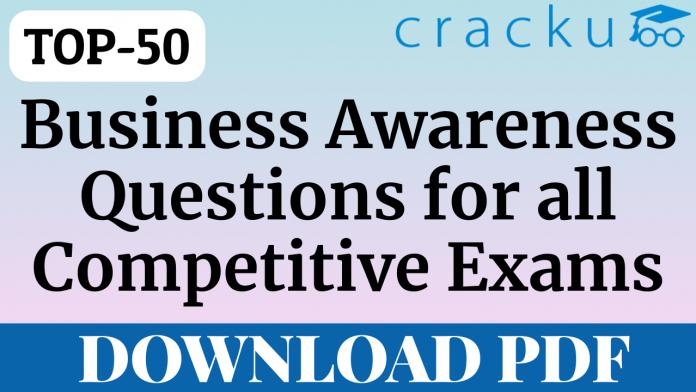 TOP-50 Business Awareness Questions