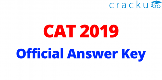 CAT 2019 Official Answer Key