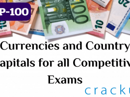 TOP-100 Currencies and Country Capitals