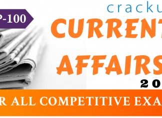 TOP-100 Current Affairs 2019