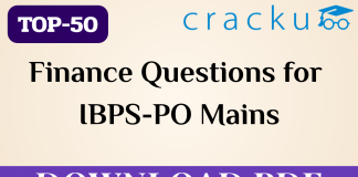 Finance Questions for ibps po mains