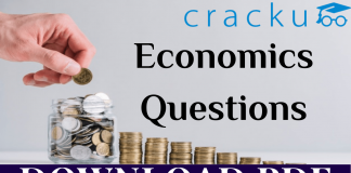 Top-50 Economics Questions for all Competitive exams (हिन्दी)